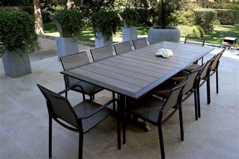 emejing salon de jardin aluminium stunning table de jardin metal couleur contemporary