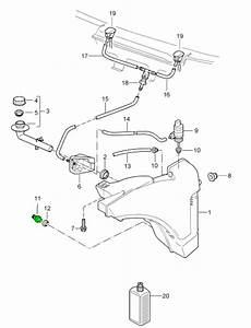 Porsche Windscreen Washer Fluid Level Sensor 95562810500