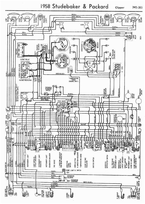 1958 Gmc Wiring Diagram by Wiring Diagram For 1958 Edsel V8 Ranger And Pacer 60167
