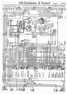 Wiring Diagram For 1958 Edsel V8 Ranger And Pacer  60167