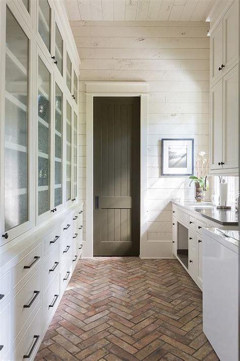 black screen kitchen pantry door cottage dining room