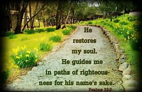 Image result for the path of rightousness