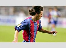 Photo gallery Messi's first match with FC Barcelona FC