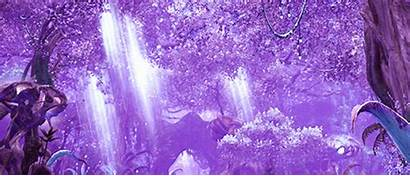 Purple Forest Gifs Fantasy Scenery Gaming Tera