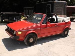Sell Used 1987 Volkswagen Rabbit Karmann Cabriolet