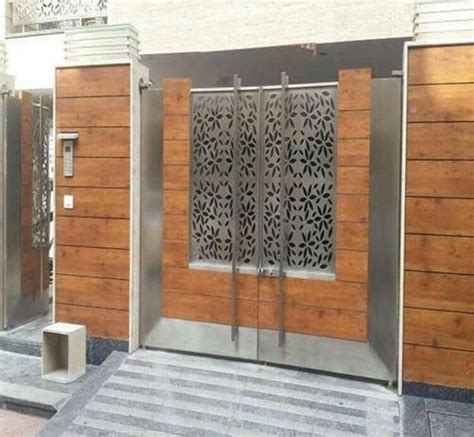 stainless steel gate stainless steel laser cutting