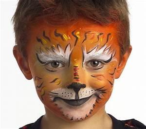 Maquillage Halloween Garcon : tutoriel maquillage tigre blog jour de f teblog jour ~ Melissatoandfro.com Idées de Décoration