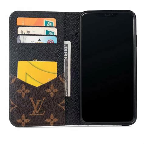 louis vuitton leather wallet phone case  iphone  phone swag