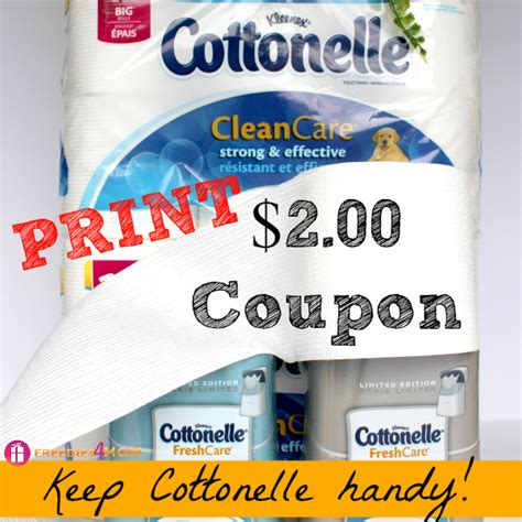 save 2 00 on cottonelle 174 and keep it handy