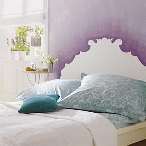 kit peinture deco tete de lit With deco tete de lit en peinture