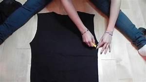 Transformer Ses Vetements : do it yourself transformer un vieux t shirt en cardigan youtube ~ Melissatoandfro.com Idées de Décoration