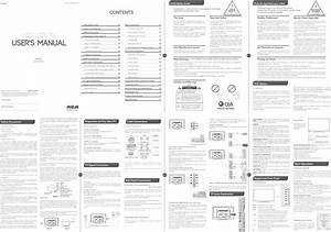 Rca Led40g45rq User Manual Led Tv Manuals And Guides 1405186l
