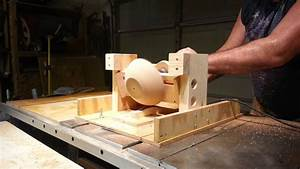 Simple Jig  Turns A  U0026quot Bowl U0026quot  On  U0026quot Tablesaw U0026quot