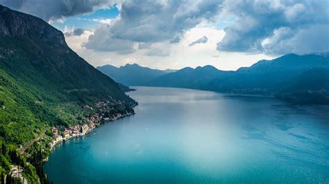 Desktop Wallpaper Hd Spring Lake Como Lake In Italy Thousand Wonders