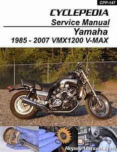 Yamaha Vmx1200 Vmax Motorcycle Cyclepedia Printed Service Manual