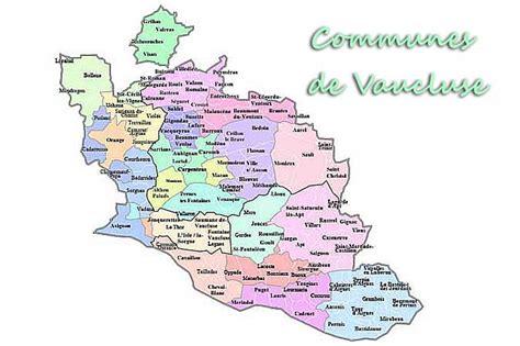 Carte De Avignon 84 by Liste Des Communes De Vaucluse 84 Provence 7