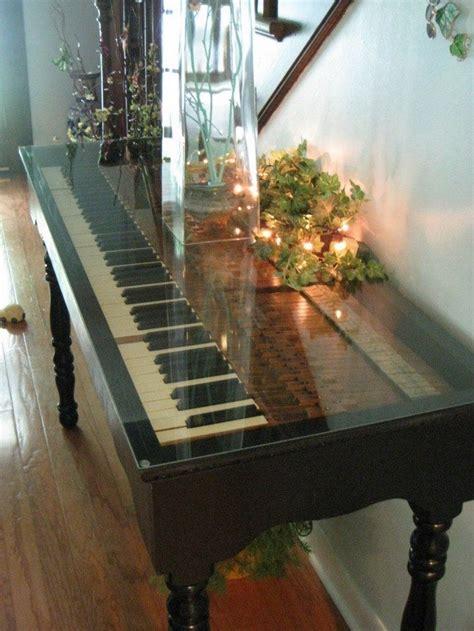repurposed piano ideas       decor