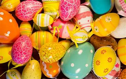 Easter Colorful Eggs Painted 5k Wallpapers