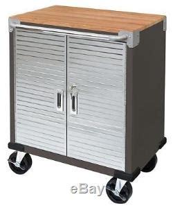 seville  door rolling cabinet storage tool box cart