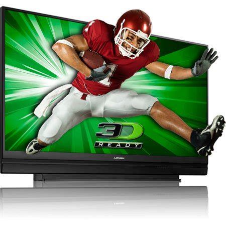 Mitsubishi Tv 3d by Wd 73638 3d Projection Tv Walmart