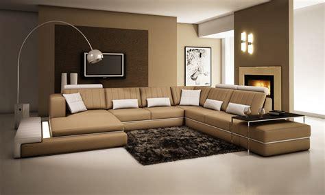 divani casa  modern leather sectional sofa