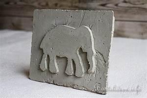 Beton Glätten Anleitung : anleitung beton gie en elefant reliefbild ~ Bigdaddyawards.com Haus und Dekorationen
