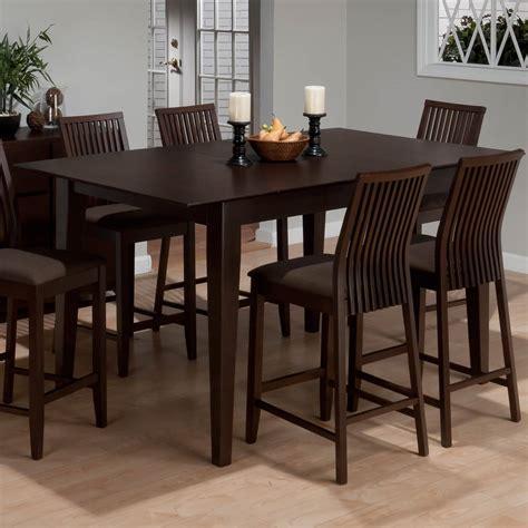 jofran ryder ash counter height rectangular dining table
