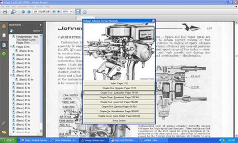 Johnson 115 V4 Outboard Wiring Diagram Pdf by Johnson Outboard Td20 Parts Manual Tradebit