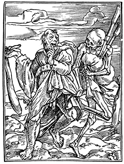 dance  death  hans holbein