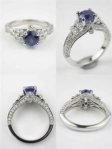 unusual antique engagement rings wedding promise With topazery antique wedding rings