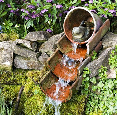 exemples de fontaines pour votre jardin detente jardin