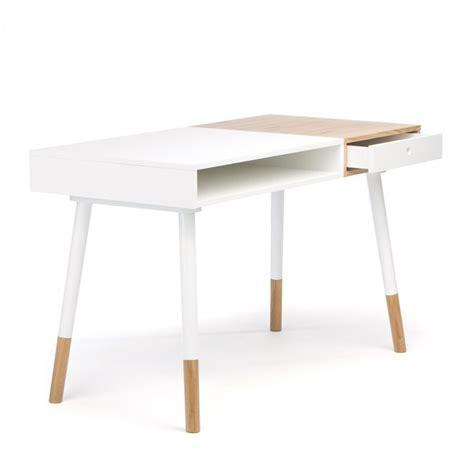 bureau bois blanc bureau design bois et blanc mzaol com