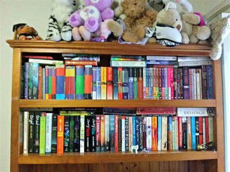 Bookshelf Tour! (lots Of Pretty Books)  The Loony Teen Writer