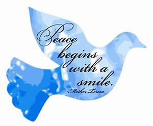 The Art Of Peac... Peace And Smile Quotes