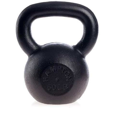 kettlebell hampton kettlebells cast iron fitness urethane kettle 40mm package 50lb bells lb fireman da hkb