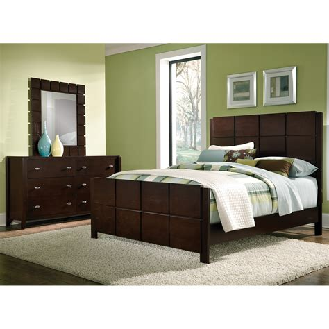 mosaic 5 king bedroom set brown american signature furniture