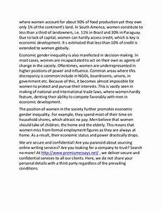 Introduce Yourself Essay Sample Gender Inequality In Education Essays Examples Causes Of Global Warming Essay also Argumentative Essay Introduction Examples Gender Inequality Essays Analytical Essay Outline Gender Inequality  The Most Important Person In My Life Essay