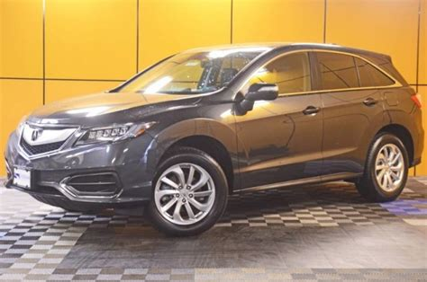 certified pre owned 2016 acura rdx for sale in abington