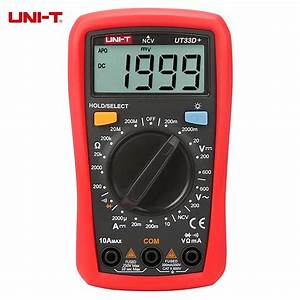 Uni T Ut33d  Manual Range Lcd Digital Multimeter Ncv