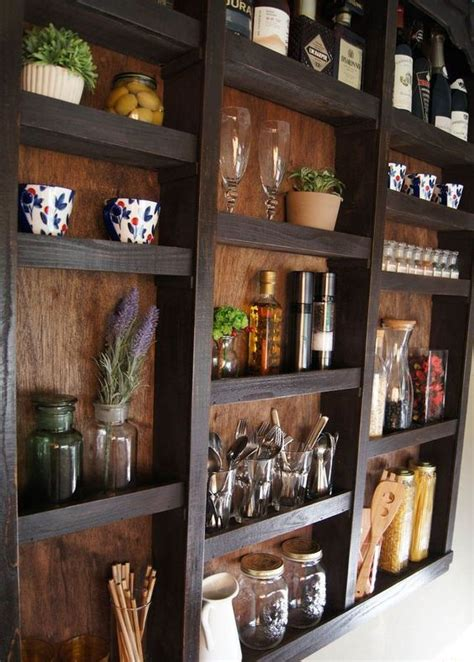 smart kitchen wall storage ideas shelterness