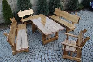 Esstisch Aus Tür : massive sitzgruppe 150cm gartentisch holz m bel stuhl ~ Michelbontemps.com Haus und Dekorationen