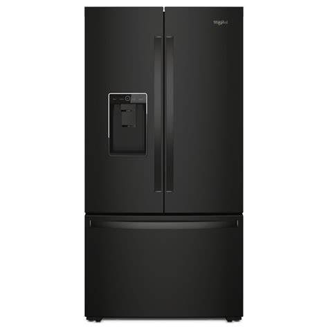kitchen cabinets outlet wrf954cihb whirlpool 24 door refrigerator black 3149