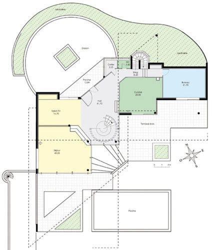 chambres des metier maison d 39 architecte 1 dé du plan de maison d