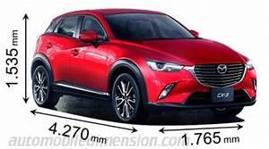 Mazda 3 Coffre : dimensions mazda cx 3 2015 coffre et int rieur ~ Medecine-chirurgie-esthetiques.com Avis de Voitures