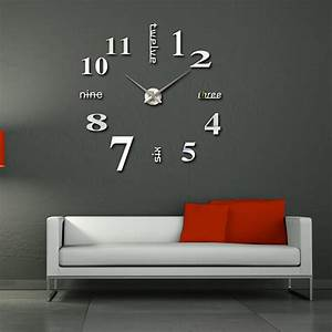 Ideas To Decorate Wall With Modern Wall Clocks Interior