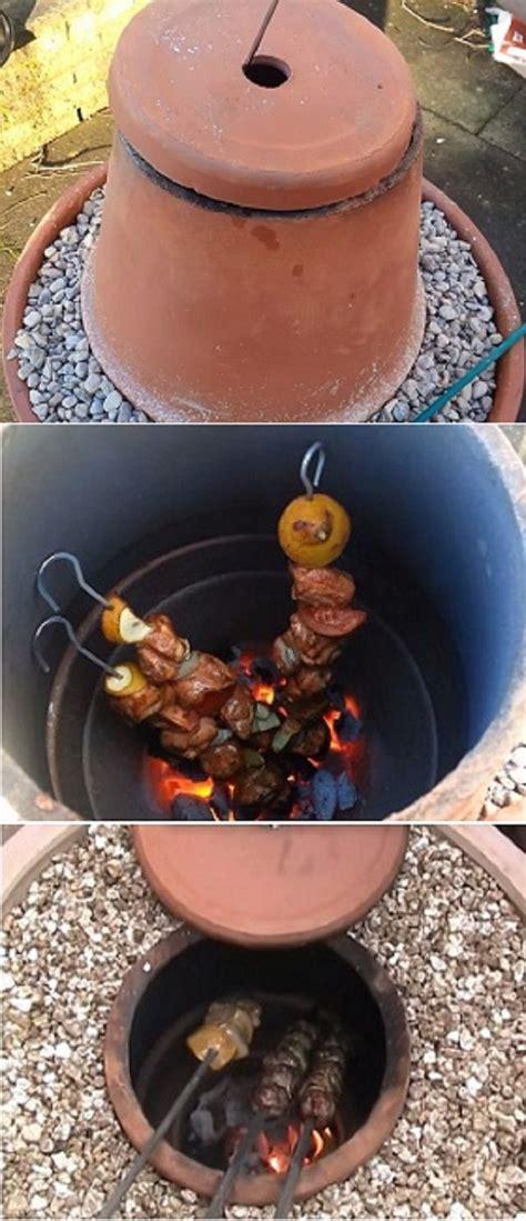flower pot tandoor oven diy oven diy