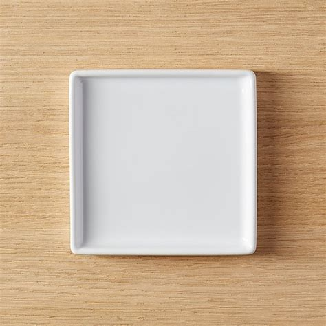 Viereckige Teller by Bento Small Square Plate Set Of 8 Reviews Cb2