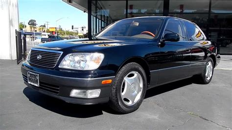 how do i learn about cars 1999 lexus gs security system 1999 lexus ls400 2 owner 69 000 orig mi black beauty for sale youtube
