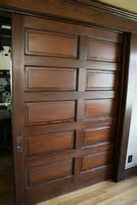 Craftsman Pocket Door