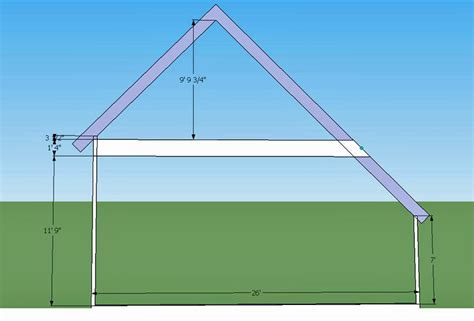 Saltbox Shed Plans 2 To Consider by Saltbox Garage Roof Frame Framing Contractor Talk